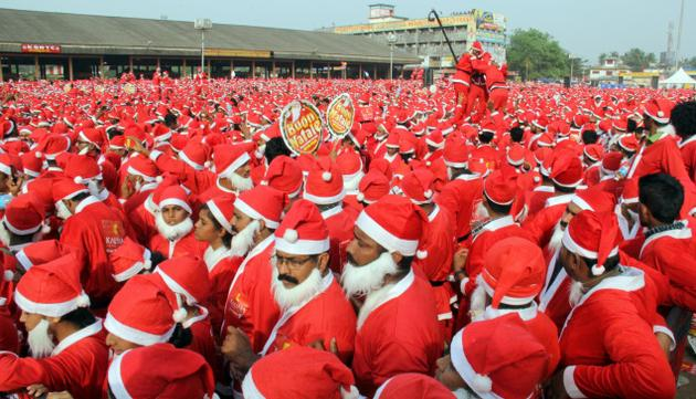 Buon Natale Thrissur.Buon Natale Enters Guinness World Records Transkerala